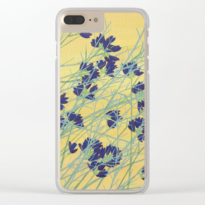 Smoke Tree Bloom Clear iPhone Case