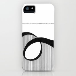 Line in Motion iPhone Case
