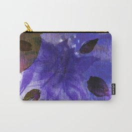 Watercolor Purple Mirage Carry-All Pouch
