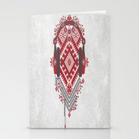 ethnic Stationery Cards featuring Ethnic by sophtunes