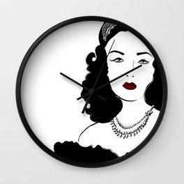 Queen Fawzia Wall Clock