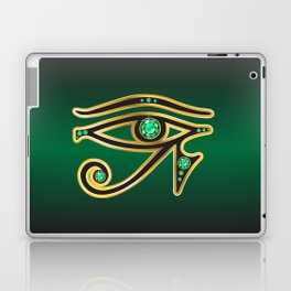 Eye of Ra Emerald Laptop & iPad Skin