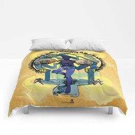 "Ars Tarot of the 12 Zodiac: ""Aquarius - The Star"" Comforters"