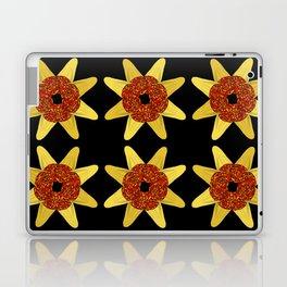 Golden Flower Of Missiles Laptop & iPad Skin