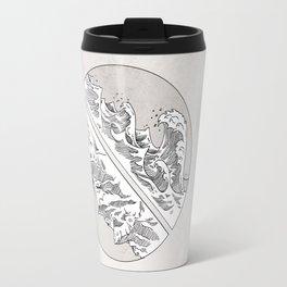 Mountains // Waves Travel Mug