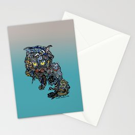 Dragon Cat (Color) Stationery Cards