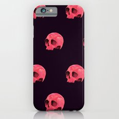 Pink Skull Pattern iPhone 6s Slim Case