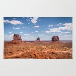 Monument Valley, Utah Rug