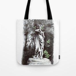 Iveagh Gardens Statue Tote Bag