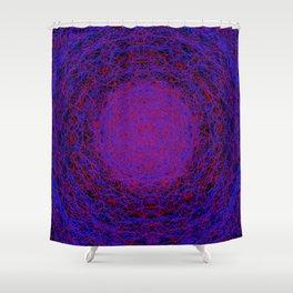 quanta 5 Shower Curtain