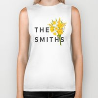 the smiths Biker Tanks featuring SMITHS by priscilawho