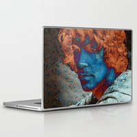 caleb troy Laptop & iPad Skins featuring Troy by Robin Curtiss