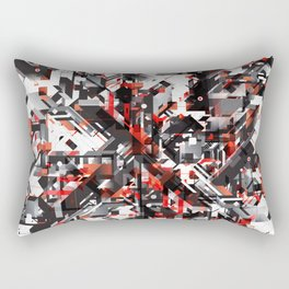 Space distortion Rectangular Pillow