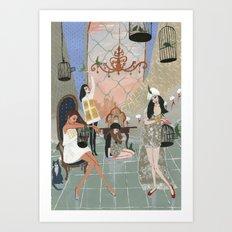 Castitas Art Print