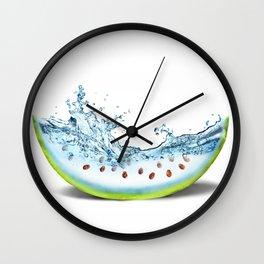 WATER-MELLON Wall Clock