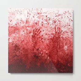 Bloody Abattoir Wall Metal Print