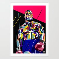 mike tyson Art Prints featuring Mike Tyson by Kool C