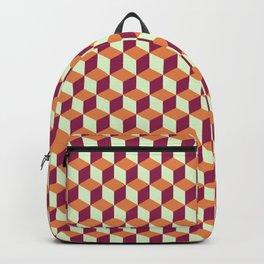 Block Pattern Backpack