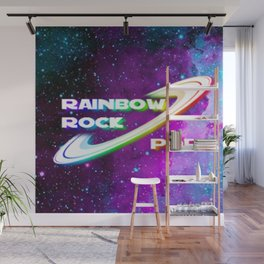 Rainbow Rock Pop app Game Wall Mural