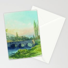 Sevastopol Aqueduct In The Gully Ushakovskaya 1850 By Lev Lagorio | Reproduction | Russian Romantici Stationery Cards