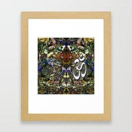 Om Shanti by Kenny Rego Framed Art Print