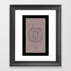 Die Neue Haas Grotesk (D) Framed Art Print