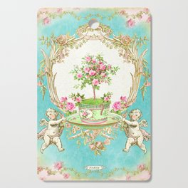 French Baroque Patisserie Tea Cutting Board