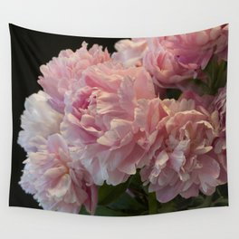 Pink Peony Passion Wall Tapestry