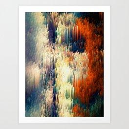 Red Pattern - Seminal Regression - Limited Edition 30 ex. Art Print