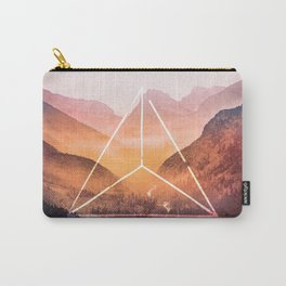 The Elements Geometric Nature Element of Fire Carry-All Pouch