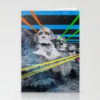 rushmore Stationery Cards featuring Mt Rushmore, Yo by Dan Howard