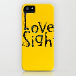 'Love At First Sight' iPhone Case