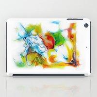 ganesha iPad Cases featuring Ganesha by TheMartianPotato