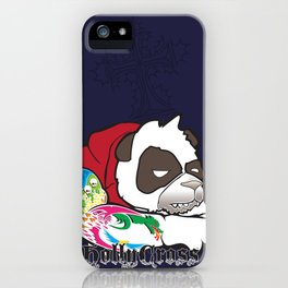 Cranky Panda iPhone Case