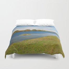 Assateague Island Marsh Duvet Cover