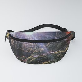 Forest morning Fanny Pack