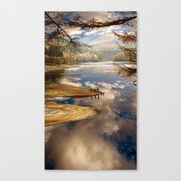 Reservoir Reflections Canvas Print