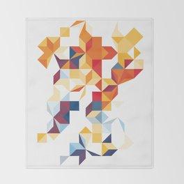 Segments Throw Blanket