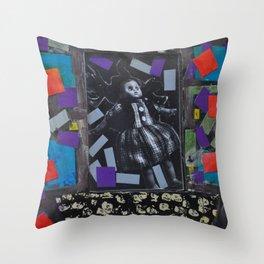 Cirque du Frique Throw Pillow