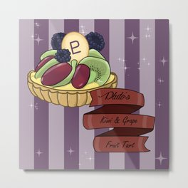 Pluto's Fruit Tart Metal Print