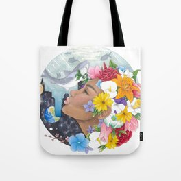 Beauty in Abstract-Realism Tote Bag