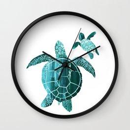 Shielded Love Wall Clock