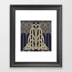 Gatsby Glamour Framed Art Print