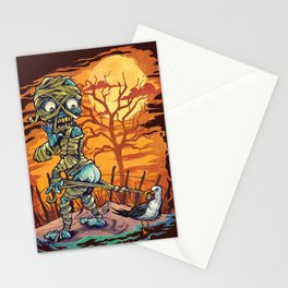 Mummy At The Beach Stationery Cards
