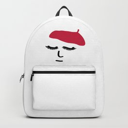 Face Beret Backpack