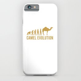 this girl loves camels the woman loves camels camels iPhone Case