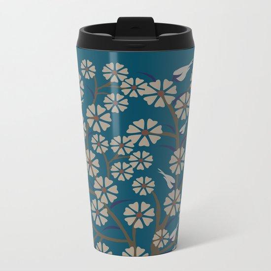 pattern 12 Metal Travel Mug