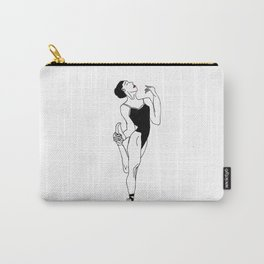 Ballerina with Elegance Carry-All Pouch