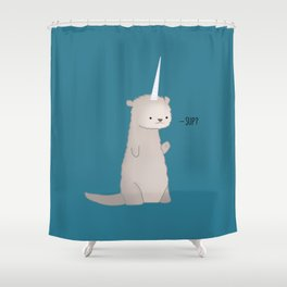Otterly Magical Shower Curtain