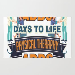 Physical Therapy Adds Life To Days Rug